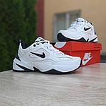 Мужские кроссовки Nike M2K Tekno (бело-черные) 10186, фото 4