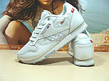 Мужские кроссовки Reebok classic (реплика) белые 43 р., фото 2