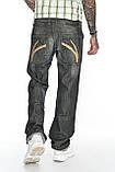 Джинсы мужские Franco Benussi FB 1245 темно-серые, фото 8
