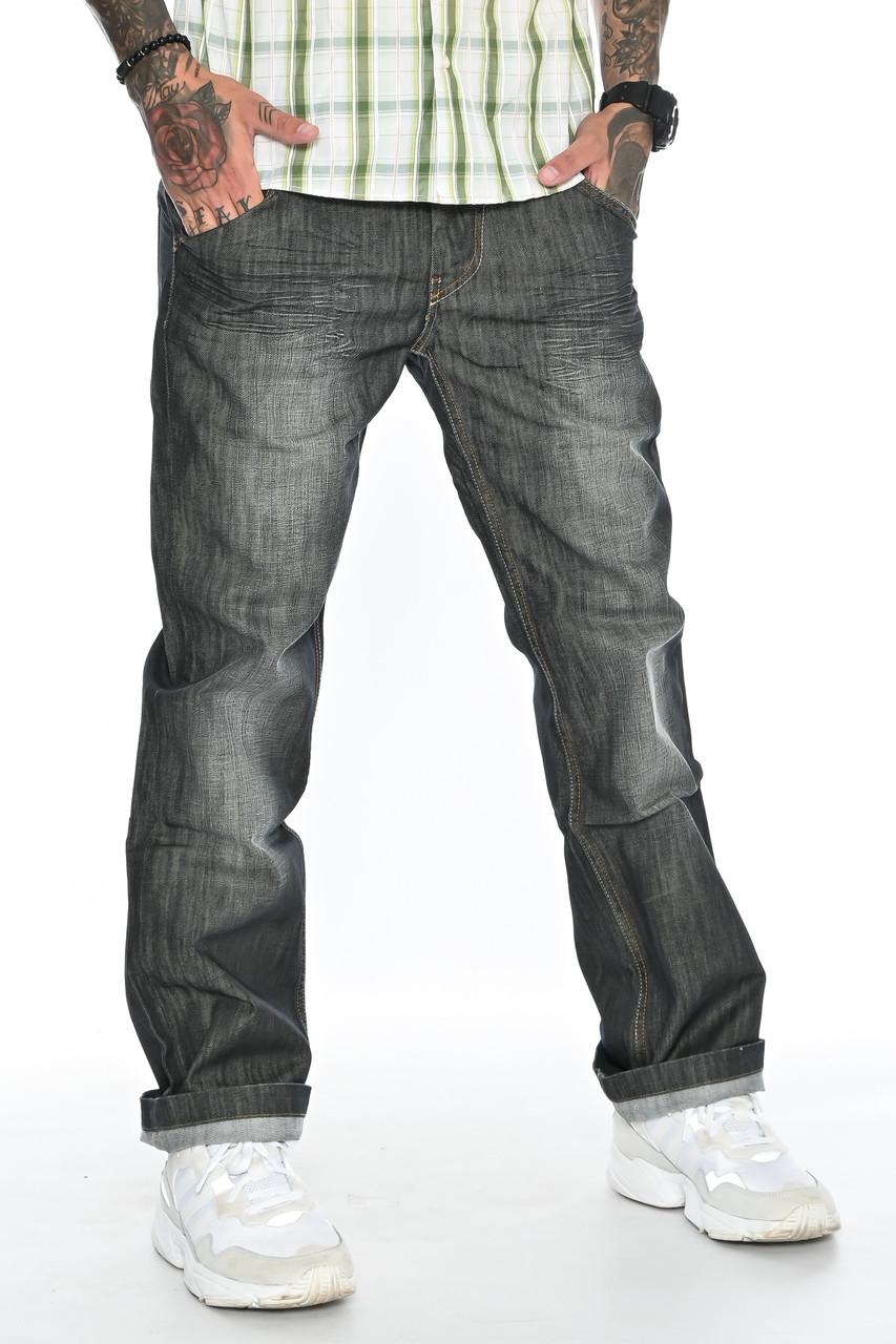 Джинсы мужские Franco Benussi FB 1245 темно-серые