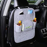 Сумка-органайзер на спинку сидіння автомобіля, різного кольору, фото 2