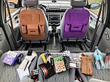 Сумка-органайзер на спинку сидіння автомобіля, різного кольору, фото 3