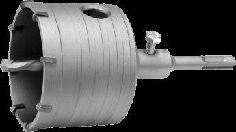 Сверло корончатое SDS-PLUS по бетону 55 мм