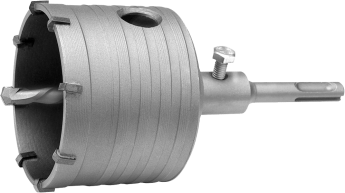 Сверло корончатое SDS-PLUS по бетону 75 мм