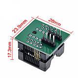 Адаптер к программатору SO8 SOP8 - DIP8 200mil, фото 5