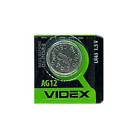 Часовая батарейка Videx LR1142 / 186 / LR43 / AG12 (1шт.), фото 1