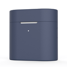 Чохол для навушників Xiaomi Mi Air 2 Колір Темно-синій TWS Bluetooth Silicone Case