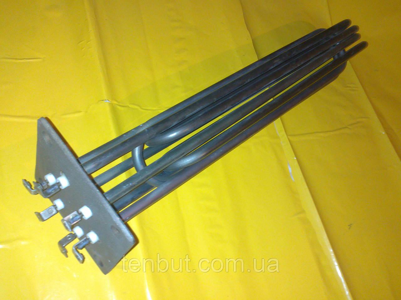 Блок Тэн на квадратном фланце 15.0 кВт. / 100х100 мм. / L-480 мм. в электрокотёл . Производство Украина