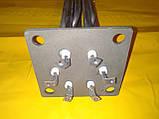 Блок Тэн на квадратном фланце 15.0 кВт. / 100х100 мм. / L-480 мм. в электрокотёл . Производство Украина, фото 2