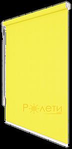 Ролета тканевая Е-Mini Камила Лимонный A607