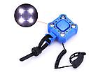 Вело-сигнал / сигнал для моноколеса / электросамоката 110 Дб + полицейский габарит / фара на COB-диодах USB, фото 7