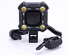 Вело-сигнал / сигнал для моноколеса / электросамоката 110 Дб + полицейский габарит / фара на COB-диодах USB, фото 2