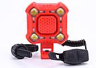 Вело-сигнал / сигнал для моноколеса / электросамоката 110 Дб + полицейский габарит / фара на COB-диодах USB, фото 3