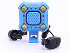 Вело-сигнал / сигнал для моноколеса / электросамоката 110 Дб + полицейский габарит / фара на COB-диодах USB, фото 4