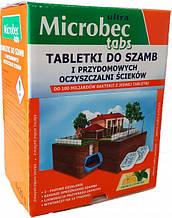 Упаковка таблеток для выгребных ям и септиков Bros Microbec Ultra с ароматом лимона 20 г х 16 шт