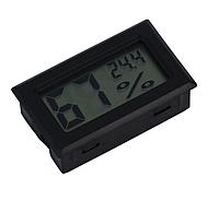 Термометр с гигрометром - ЖК дисплей, белый