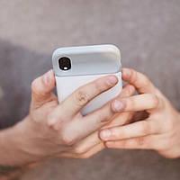 Чехол-аккумулятор для iPhone XR 4000 мАч Белый
