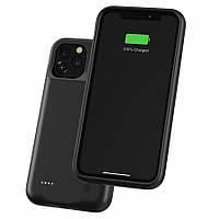 Чехол-аккумулятор для iPhone 11 Pro 3500 мАч Черный
