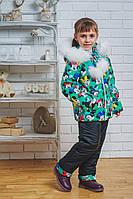 Зимний детский костюм брюки+куртка, фото 1