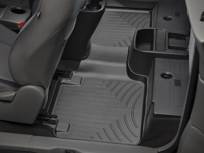 Ковры резиновые WeatherTech Toyota Tacoma 2012-2015 задний черный (Access Cab . ящик )