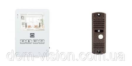 Видеодомофон Dom DS-4W+ панель вызова