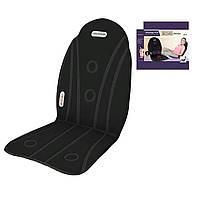 Массажный авто чехол (массажер) на сидениеSeat Cushion Massage 2 в 1 + ПОДАРОК: Наушники для Apple iPhone 5 --
