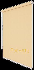 Ролета тканевая Е-Mini Камила Светлый абрикос A604