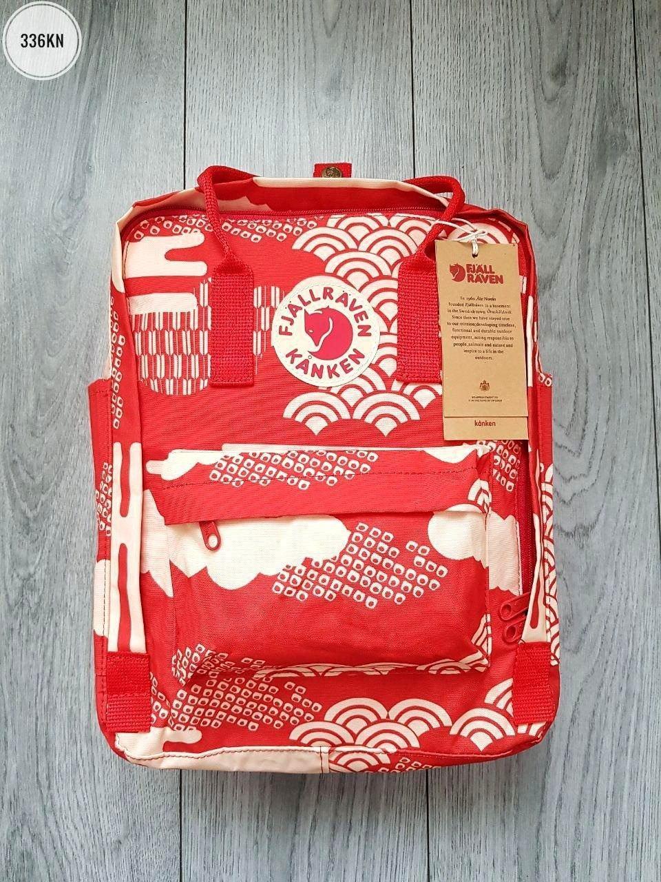 Рюкзак Kanken Fjall Raven 16L Red/White