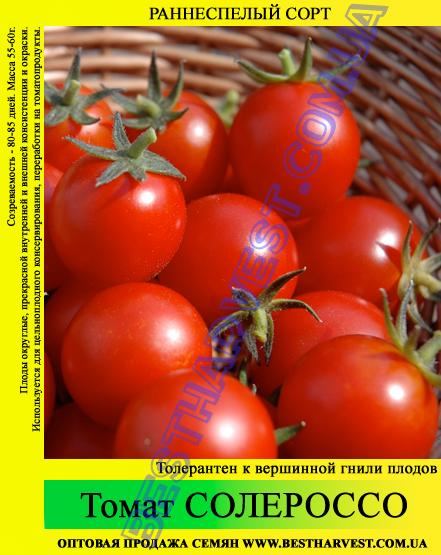 Семена томата Солероссо 0,5кг