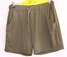 Женские трикотажные шорты батал оптом недорого со склада в Одессе.
