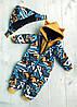 Комбинезон детский демисезонный или зимний Геометрия, фото 3