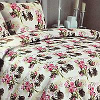 """""""Розы"""" Комплект постельного белья полуторный 150/210 см, нав-ки 70/70, ткань сатин, 100% состоит из хлопка"""