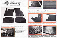 Seat Leon 2012 резиновые коврики Stingray Premium