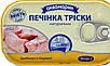 Печень Трески натуральная по - кавказски 115 грамм, фото 3