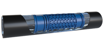 Трубка капельная IDIT Ø16-2,3l/h-0,33м (0.9мм) в бухте 100м Metzerplas (Израиль), фото 2