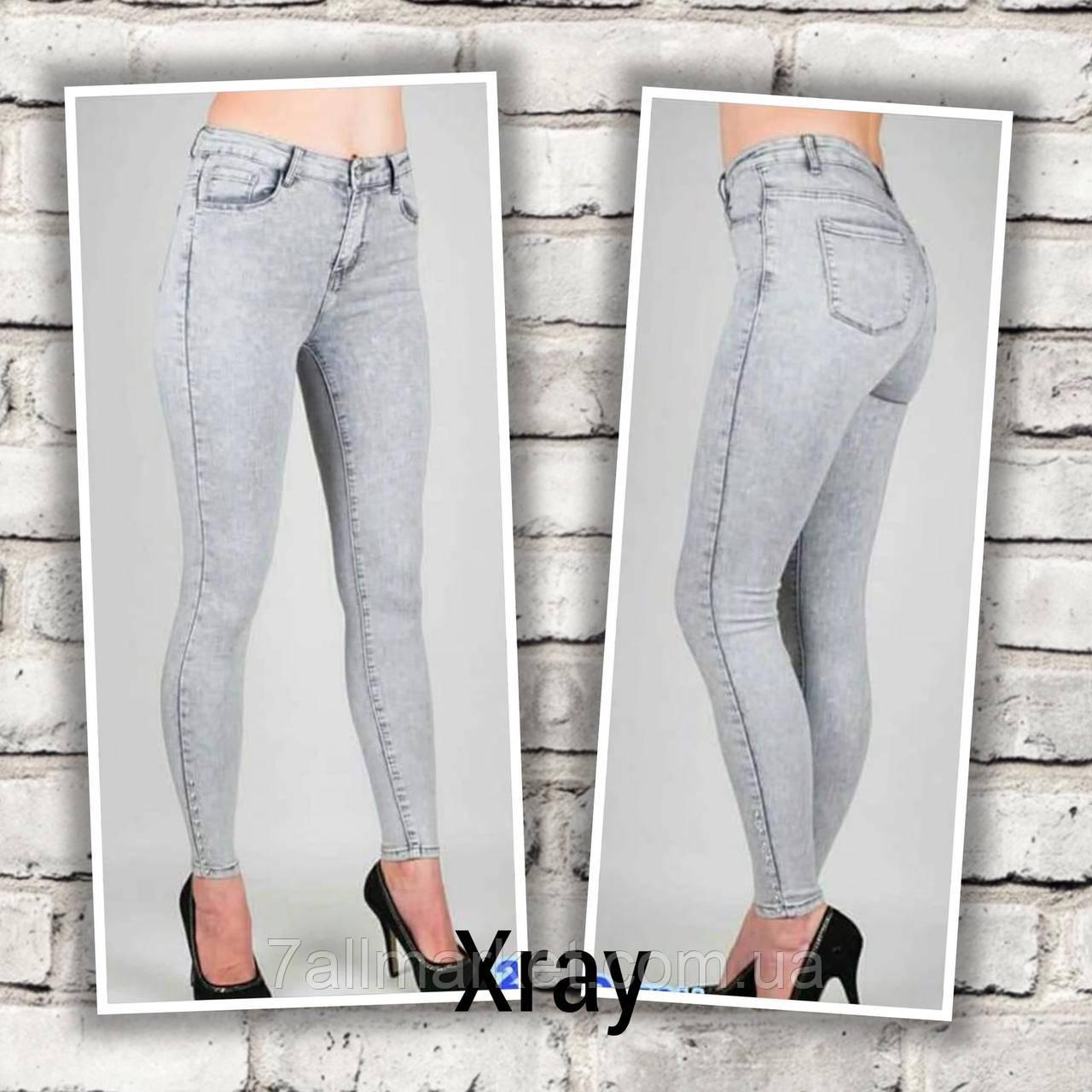 """Джинсы-американки женские Xray стильные размеры 26-32 """"JeansStyle"""" недорого от прямого поставщика"""