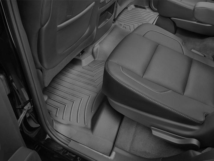 Ковры резиновые WeatherTech Chevrolet Tahoe 2015-2020 задний черный