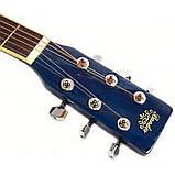 Набір акустична гітара Bandes AG-851C BL 39+ стійка, фото 4