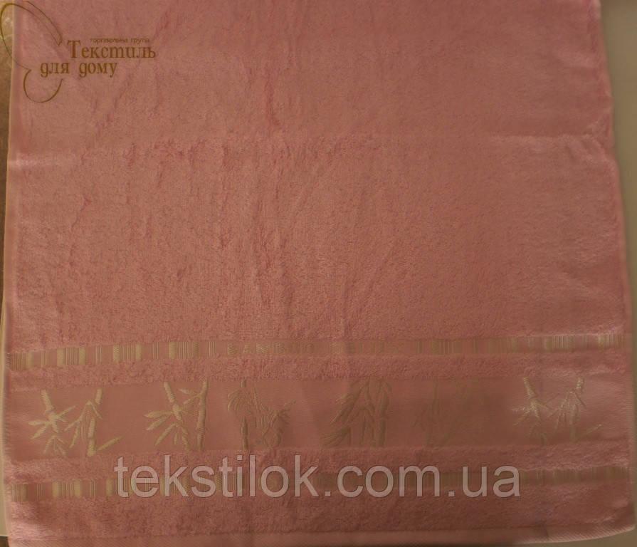 Полотенце 70*140, 450 гр/м2,16/1 Розовое