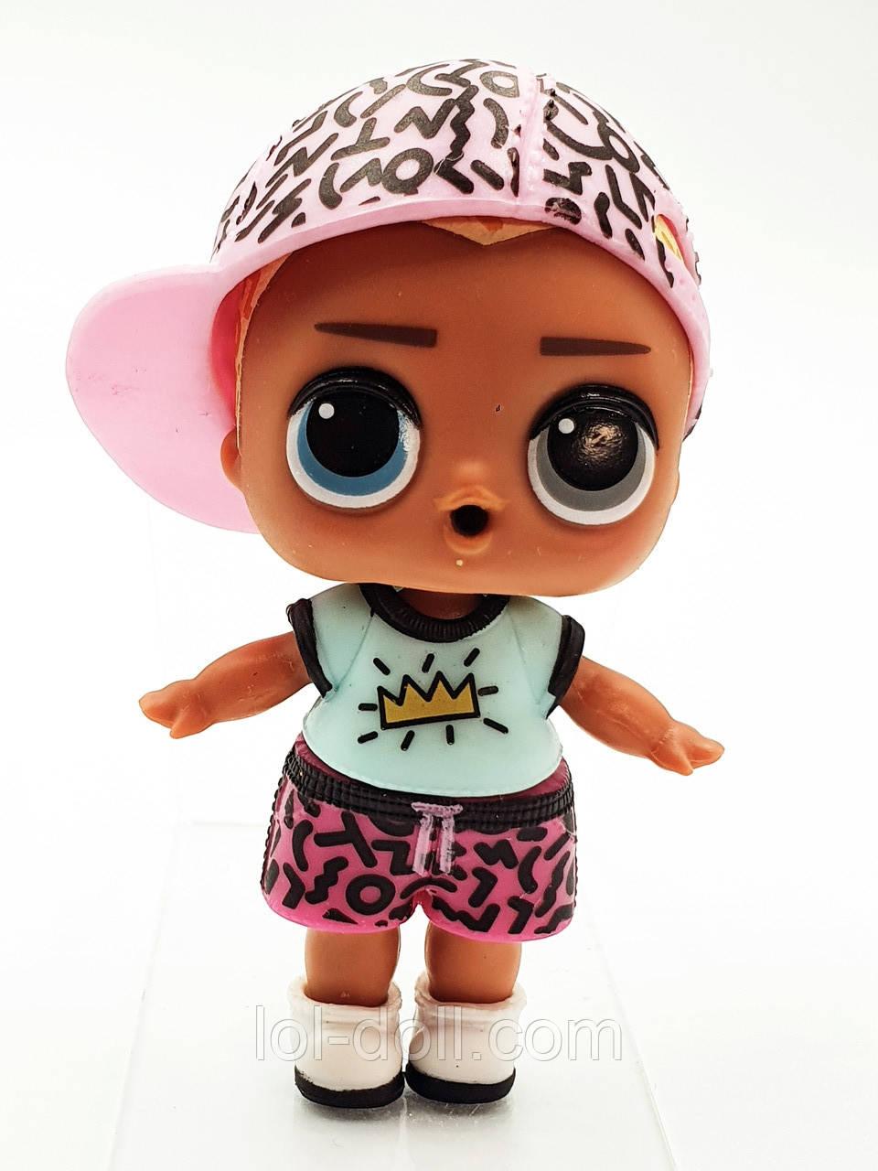 Кукла LOL Surprise 4 Серия Scribbles - Мальчик Under Wraps Лол Сюрприз Без Шара Оригинал