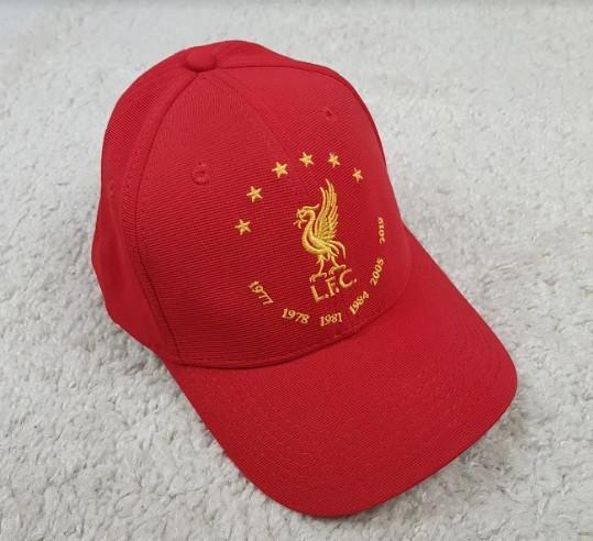 Кепка Ливерпуль красная хлопок
