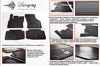 Audi A3 2012+ гг. Резиновые коврики (4 шт, Stingray Premium)