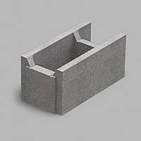 Блок несъемной опалубки (510х250х235) серый Золотой Мандарин