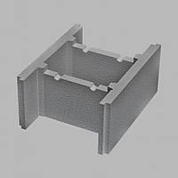 Блок несъемной опалубки (510х400х235) серый Золотой Мандарин