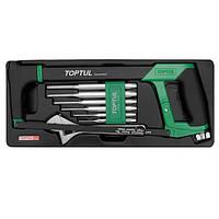 Комбинированный набор инструментов в ложементе 8 ед. TOPTUL GCAT0801