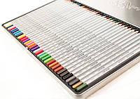 Цветные карандаши 36 цветов Marco Raffine 7100-36TN Марко Рафин в металлическом пенале