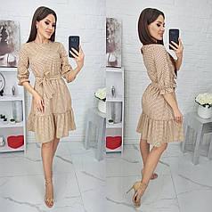 Платье в горошек в расцветках 84196