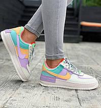 Женские кроссовки Nike Air Force 1 Low Shadow Pastel, фото 2