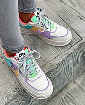 Женские кроссовки Nike Air Force 1 Low Shadow Pastel, фото 3