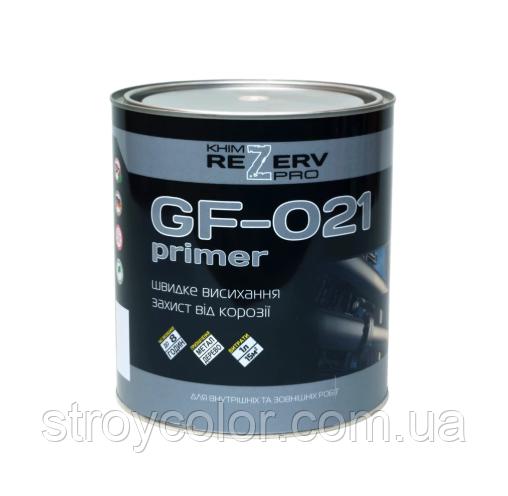 Грунт ГФ-021 Красно-коричневый Khimrezerv PRO 2,8кг (грунтовка химрезерв)